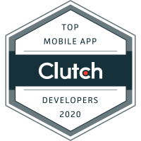 2020 Top Mobile App Developers Award Winner - Clutch Award