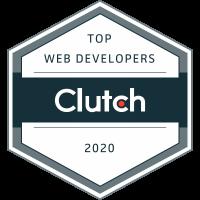 2020 Top Web Developers Award Winner - Clutch Award