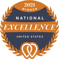 2021 Upcity National Excellence Award